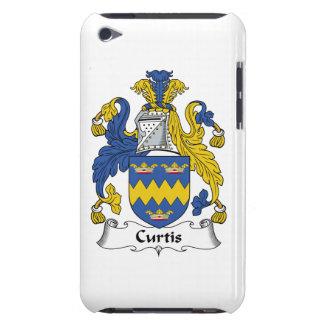 Escudo de la familia de Curtis Case-Mate iPod Touch Coberturas