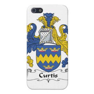Escudo de la familia de Curtis iPhone 5 Coberturas