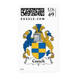Escudo de la familia de Cusack Envio