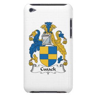Escudo de la familia de Cusack Case-Mate iPod Touch Coberturas