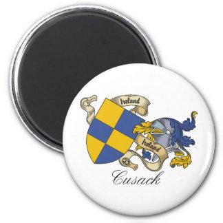 Escudo de la familia de Cusack Imanes De Nevera
