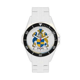Escudo de la familia de Cusack Relojes De Mano