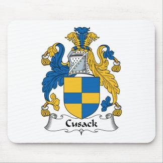 Escudo de la familia de Cusack Tapete De Raton