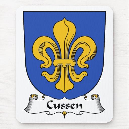 Escudo de la familia de Cussen Alfombrilla De Raton