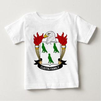 Escudo de la familia de Custin Camisetas