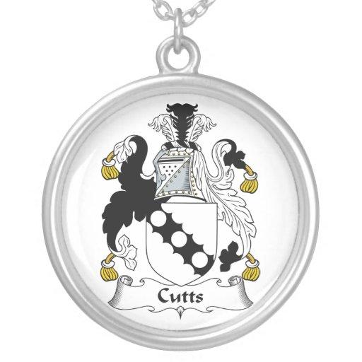 Escudo de la familia de Cutts Collar Plateado