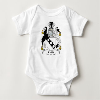 Escudo de la familia de Cutts T-shirts