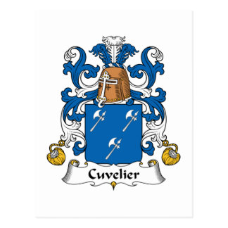 Escudo de la familia de Cuvelier Postal