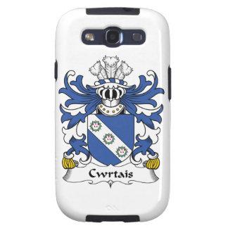 Escudo de la familia de Cwrtais Galaxy SIII Protectores