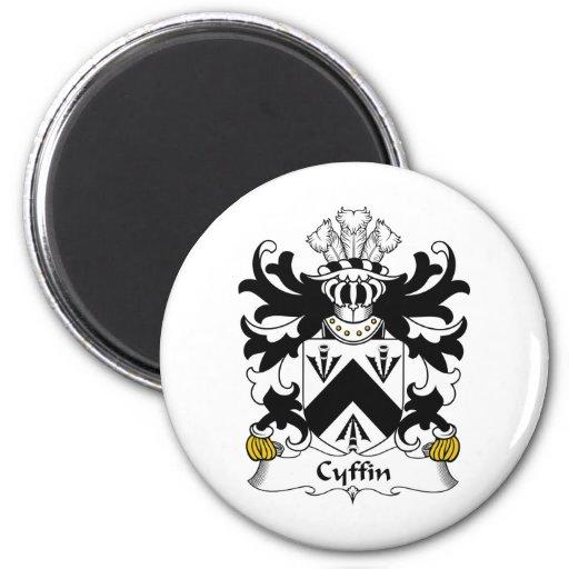 Escudo de la familia de Cyffin Imanes