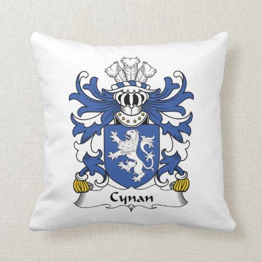 Escudo de la familia de Cynan Almohada