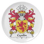Escudo de la familia de Cynfin Plato Para Fiesta