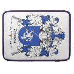 Escudo de la familia de Czirson Funda Para Macbooks
