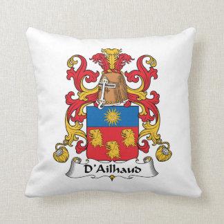 Escudo de la familia de D Ailhaud Almohada