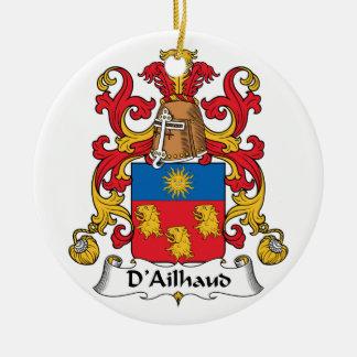 Escudo de la familia de D Ailhaud Ornatos