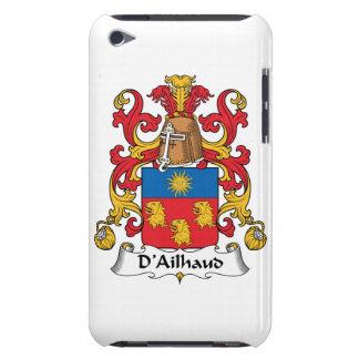 Escudo de la familia de D Ailhaud iPod Touch Carcasa