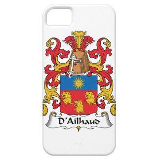 Escudo de la familia de D Ailhaud iPhone 5 Case-Mate Protector