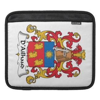 Escudo de la familia de D Ailhaud Mangas De iPad