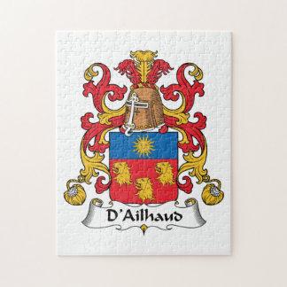 Escudo de la familia de D Ailhaud Puzzle