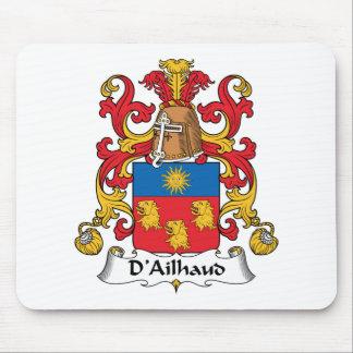 Escudo de la familia de D Ailhaud Tapetes De Raton