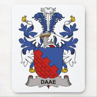 Escudo de la familia de Daae Alfombrilla De Ratón