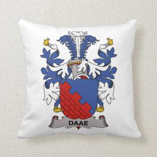 Escudo de la familia de Daae Almohadas
