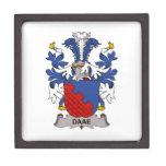 Escudo de la familia de Daae Cajas De Joyas De Calidad