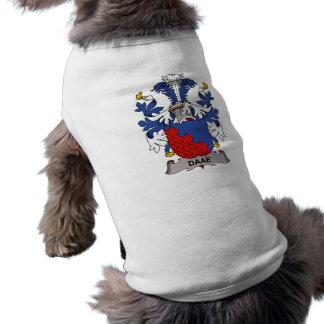 Escudo de la familia de Daae Camisas De Mascota