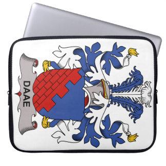 Escudo de la familia de Daae Fundas Ordendadores