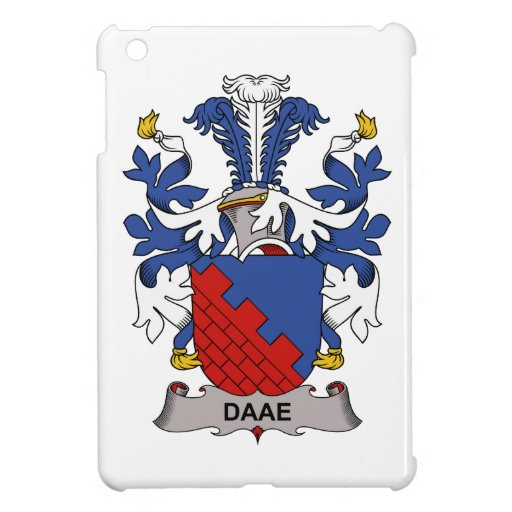 Escudo de la familia de Daae iPad Mini Carcasa