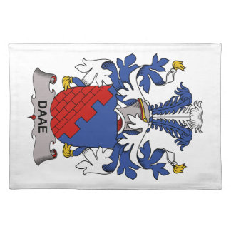 Escudo de la familia de Daae Mantel