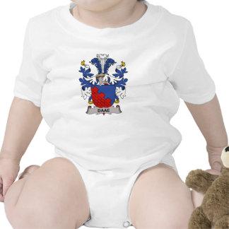Escudo de la familia de Daae Trajes De Bebé