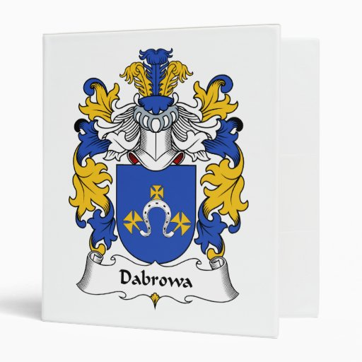 "Escudo de la familia de Dabrowa Carpeta 1"""