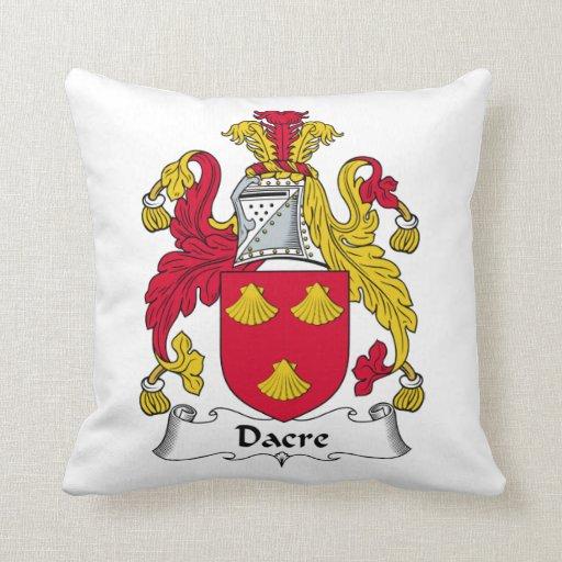 Escudo de la familia de Dacre Cojin