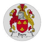 Escudo de la familia de Dacre Juego De Fichas De Póquer