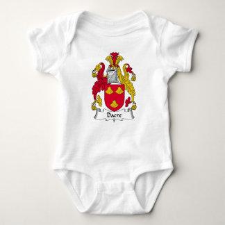 Escudo de la familia de Dacre Mameluco De Bebé