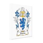 Escudo de la familia de Daems Lona Estirada Galerias