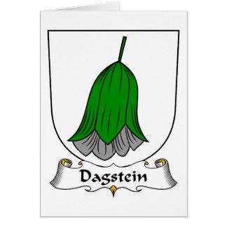 Escudo de la familia de Dagstein Felicitacion
