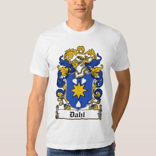 Escudo de la familia de Dahl Remeras