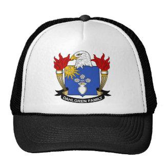 Escudo de la familia de Dahlgren Gorras De Camionero