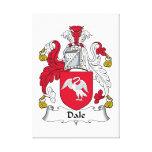 Escudo de la familia de Dale Lona Envuelta Para Galerías