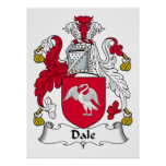 Escudo de la familia de Dale Poster