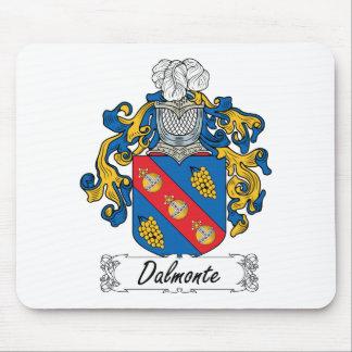 Escudo de la familia de Dalmonte Tapetes De Raton