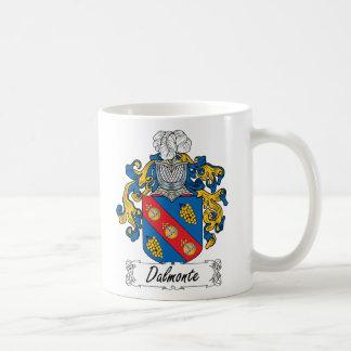 Escudo de la familia de Dalmonte Tazas De Café