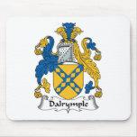 Escudo de la familia de Dalrymple Tapete De Raton