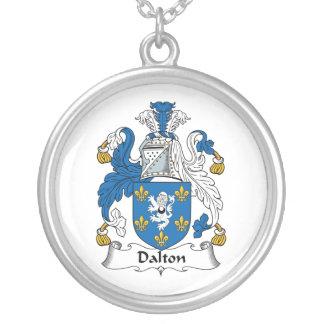 Escudo de la familia de Dalton Colgante Redondo