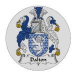 Escudo de la familia de Dalton Fichas De Póquer