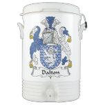 Escudo de la familia de Dalton Vaso Enfriador Igloo