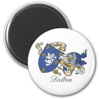 Escudo de la familia de Dalton Imán Redondo 5 Cm