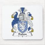 Escudo de la familia de Dalton Tapetes De Raton